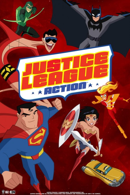 Justice League Action... and this time, they brought friends!